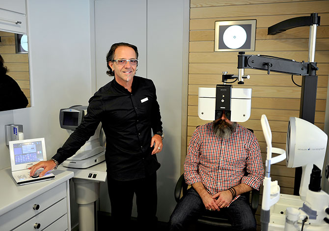 Examen de la vue chez votre opticien